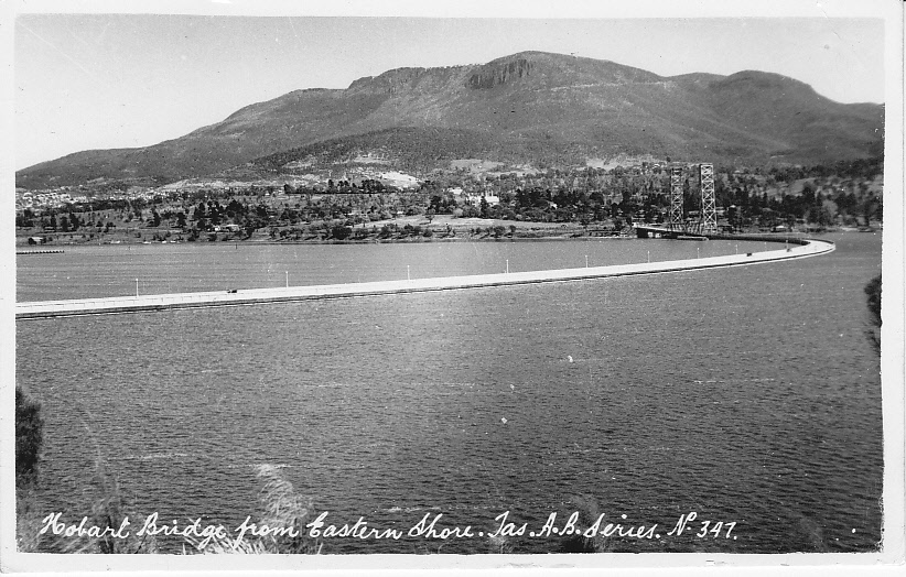 The Hobart Floating Bridge